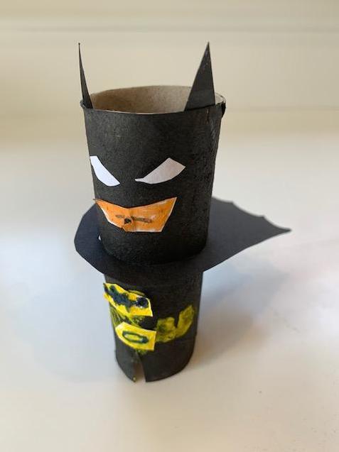 McKenzie has made batman.
