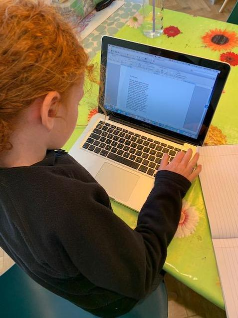 Carefully typing up learning