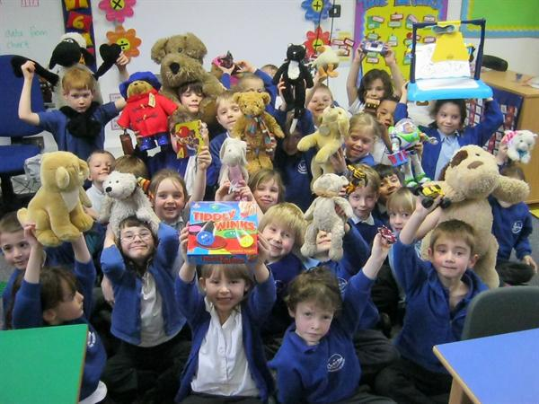 Toy Day: we all brought in our favourite toys!