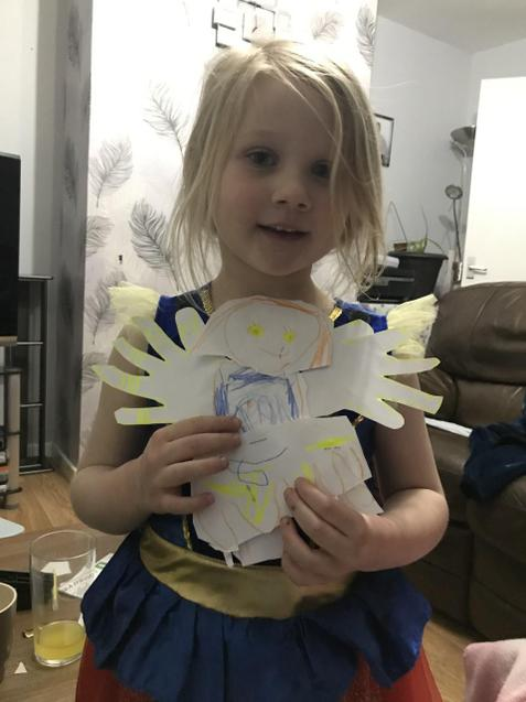 Sunny's art and craft.