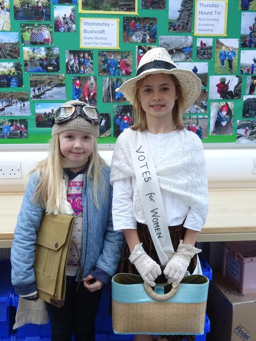Amy Johnson & Emily Pankhurst