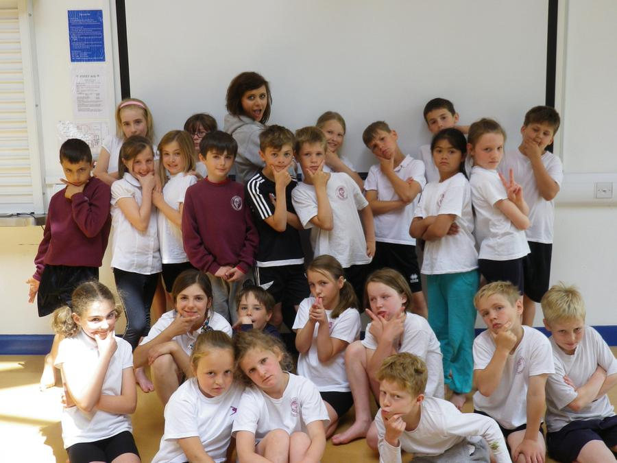 Kestrels had a fabulous time creating and performing their Street Dance