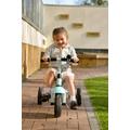 Riding bikes and trikes.