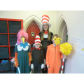 Miss Hutton joining the Dr Seuss Characters