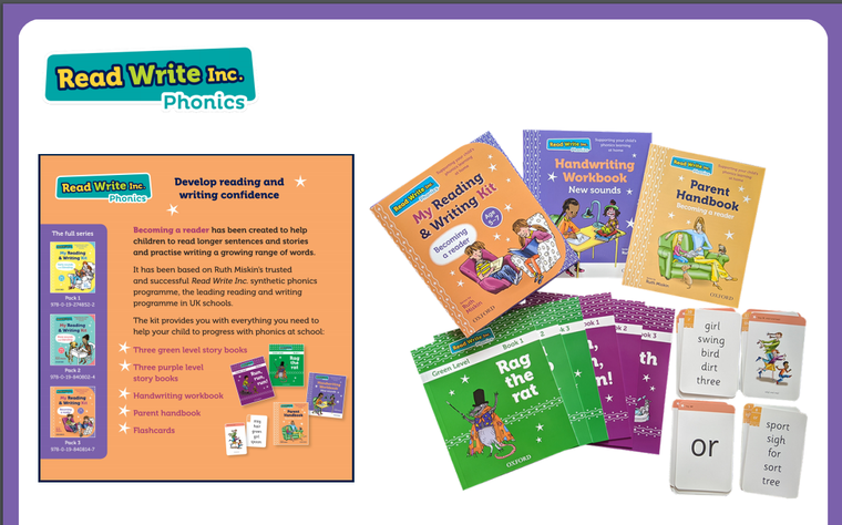 Helping your child to use their phonics to become a reader