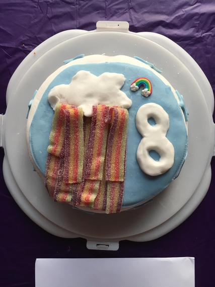 Emily's yummy birthday cake
