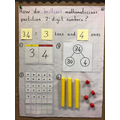 Our learning about partitioning 2-digit numbers