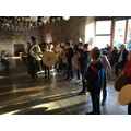 "Year 5 have had a really busy week. Each class has been on a visit to Scaplin's Court Museum on Poole Quay to find out…………………. ""Who were the Saxons and Vikings?"" The children spent the morning learning about Saxon's and the afternoon about the Vikings. They made bread, ink, candles and also pottage (the ultimate Saxon food) which apparently was quite tasty."