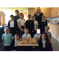 Next up, Cookery Club, this tasty after school club is producing some delicious results. Run by Mrs Cooke and Mrs Snowshall, on the menu this week were pizza's and cheese straws. Wow, the food looks so yummy I wonder if any of it actually made it home!?