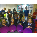 Extra-curricular snapshot - preparing for our Christmas Concert!