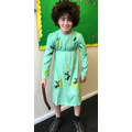 Not forgetting Peter (voted best dressed Year 6)