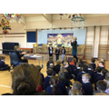 On Friday 13th December, the whole school participated in our celebrated termly Spelling Bee Finals - a special event designed to increase everyone's spelling power!