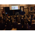 The dental nurse told everyone how important it is to look after your teeth and what to expect when you visit the dentist. How to brush your teeth and what to eat (and not eat) for healthy teeth. I hope you were listening Year 4's, help keep those teeth and that smile beautiful.