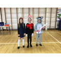 Voted best dressed Year 4, Lacie, Isla and Addison