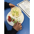 Year 4's current topic is the digestive system and nutrients. As part of their Design and Technology curriculum, the children designed and made their own delicious, healthy wraps. I expect families will be looking forward to them making lunch now, your all experts Year 4's!