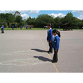 Playground - Yr 3 looking at shadows
