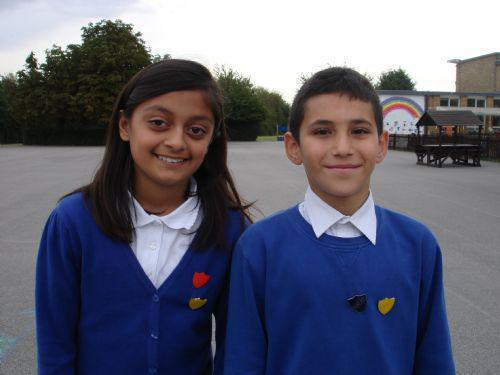 The 2012-2013 Head Girl and Head Boy