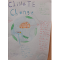 Climate change and education poster
