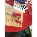 Making Playdough Dragons