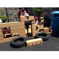 KS1 construction kits in use