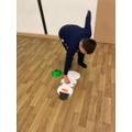 Build a snowman relay