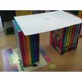 We built paper bridges