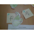 P for pear