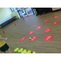 Number Day PE activities!