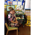 Interviewing Mrs Turner who worked at St Modwens