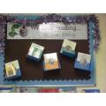 Tinsel on the displays!