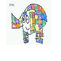 A super Elmer by Aizaz.