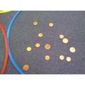 I sorted coins..