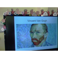 We made Van Gogh fact files