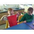 We explored different fabrics