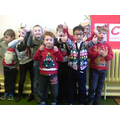 Look at our Christmas jumpers