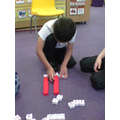 We had a go at making our own number sentences
