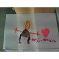 I painted my teacher!