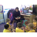 Mrs Stokes showed us all his medals