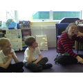She showed us how to use actions when re-telling