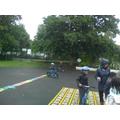 We used the balance bikes!