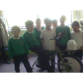 Here we all are with the bike