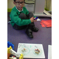 I had help to write my sentence