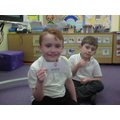 We picked one of each and made a simile