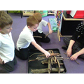 We learned to build structures using twigs
