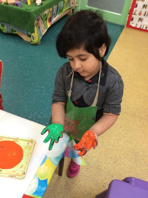 Exploring colours