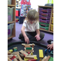 I am exploring shapes and construction