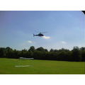 On Tuesday, the helicopter did a practise landing!