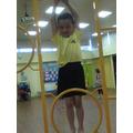 I can climb and hang