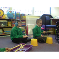 We love bucket drumming!