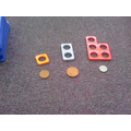 Numicon helps us understand that 2p = 1p+1p...